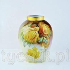 Zjawiskowy wazon wykonany ze szlachetnej porcelany