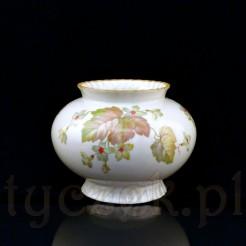 Żarski wazon o pulchnej formie i obszernym brzuścu