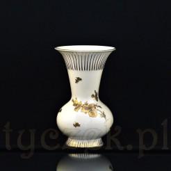 Wazon z kremowej porcelany z wytwórni z Sorau (obecnie Żary) z C&E Carstens Porzellanfabrik