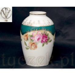 Sygnwoany wazon - stara porcelana