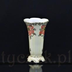 Śląski porcelanowy wazon na bukiety kwiatowe