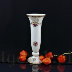 Znakomity wazon z tułowickiej porcelany złoconej