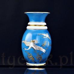 Luksusowy wazon z lecącymi ptakami - muzealny antyk z Tułowic
