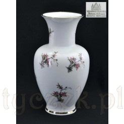 Wazon Bavaria z porcelany w kwiaty