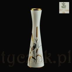 Markowy wazon Alka Kunst Bavaria z pięknym dekorem