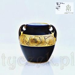 Porcelanowy wazonik marki Fraureuth Porzellanfabrik AG
