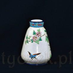 Pięknie dekorowany wazonik nada orientalnego powiewu każdemu wnętrzu