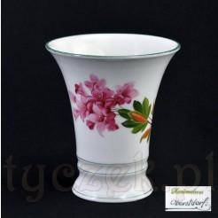 Malowany wazon z motywem różanecznika