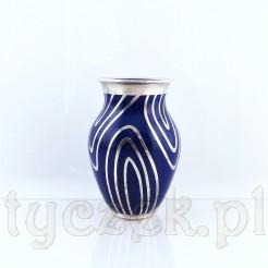 Cudowny wazonik z cennej porcelany w kremowym odcieniu