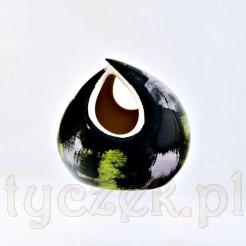 Wyjątkowy wazon z Pruszkowa w typie op art