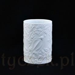 Niecodzienny dizajn Wiinblad na biskwitowej porcelanie Rosenthal