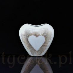 Walentynkowe serce idealne na upominek dla ukochanej z okazji Dnia Zakochanych