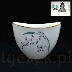Piękny wazon z bawarskiej porcelany w nowoczesnym stylu