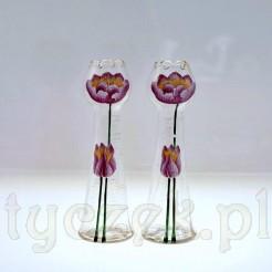 Para oryginalnych wazonów z epoki Secesji