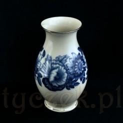 Luksusowy wałbrzyski wazon przedwojenny z porcelany ecru