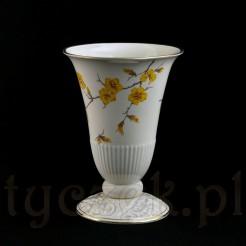 Porcelana Ecru z motywem żółtej forsycji