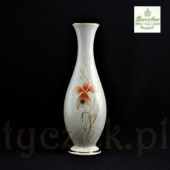 wysoki nieprzeciętny wazon dla miłośnika markowej porcelany