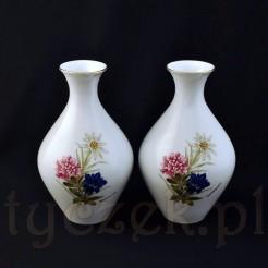 Para wazonów porcelanowych Jager
