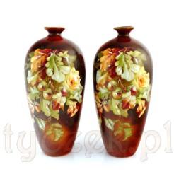Urocza para jesiennych wazonów