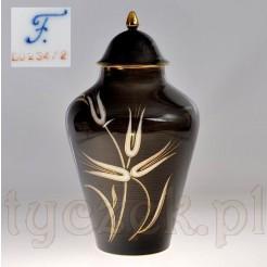 przepiękna porcelanowa amfora