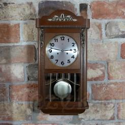 1928 rok Witrażowy zegar drewniany JUNGHANSze340