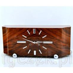 Bufetowy zegar wykonany w epoce Art Deco
