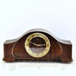 Zegar w pięknej obudowie dębowej