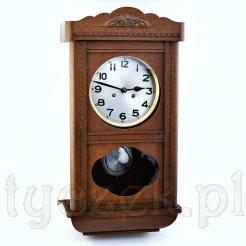 Wspaniały zegar wiszący do salonu i gabinetu - prawdziwy antyk
