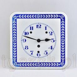 Ścienny zegar emaliowany do kuchni lub jadalni