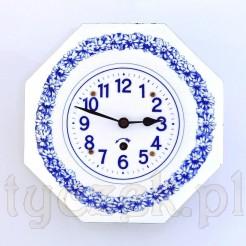 Emaliowany zegar kuchenny
