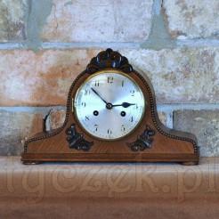 Stylowy & zabytkowy zegar kominkowy Junghans