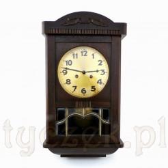 Ekskluzywny zegar ścienny z la trzydziestych XX wieku