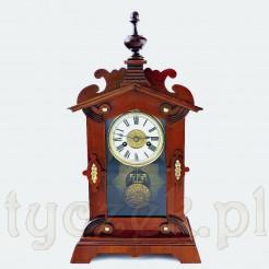 Antyk zegar z przełomu XIX i XX wieku marki HALLER
