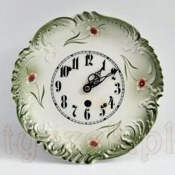 Ekskluzywny zegar z ceramiką z około 1910 roku