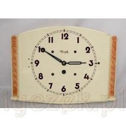 Ekskluzywny antyk ceramiczny marki Kienzle - stary zegar