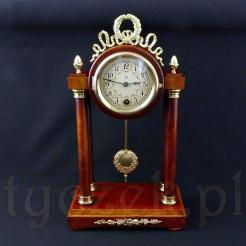 Luksusowy zegar gabinetowy HAU typ Pednule forma portykowa