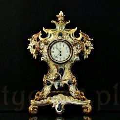 Rewelacyjny zegar zabytkowy z przełomu XIX i XX wieku