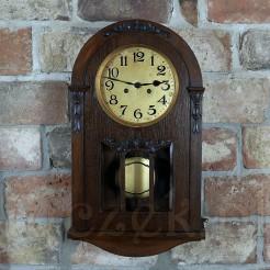 Stylowy i zabytkowy zegar ścienny - 100letni okaz!