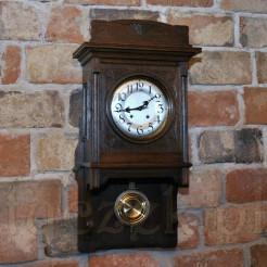 ekskluzywny zegar z okresu SECESJA z werkiem LFS