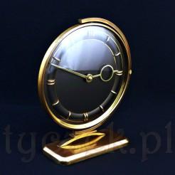 Niezwykły zegar na biurko prezesa! Nakręcany zegarek obrotowy