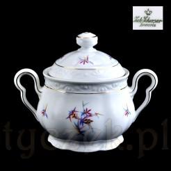 Znakomita porcelanowa cukiernica z epoki Art deco