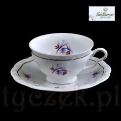Markowa filiżanka -porcelana Bavaria z epoki Art Deco