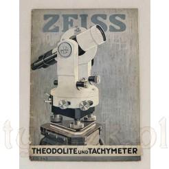 Książka Zeiss Theodolite Tachymeter