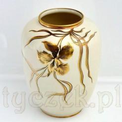 Złoty irys elegancja zaklęta w wazonie