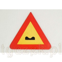 Znak drogowy - miniatura reklamowa