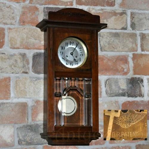 Ścienny Zegar światowej Sławy Kienzle Dr Patent Antyczek