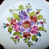 DRESDEN - porcelanowa szkatułka ręcznie malowana- kolekcjonerskie cacko!
