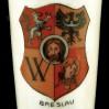 Breslau porcelanowy kieliszek z herbem miasta Wrocław