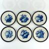 Bavaria Haviland z grupy Rosenthal sześć dekoracyjnych talerzy w owoce