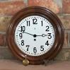 1909 rok okrągły zegar Becker pokaźnej średnicy 45cm